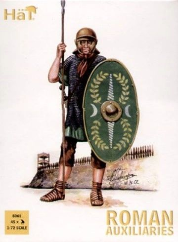 1/72 Roman Auxiliary Infantry (45) - HAT-8065