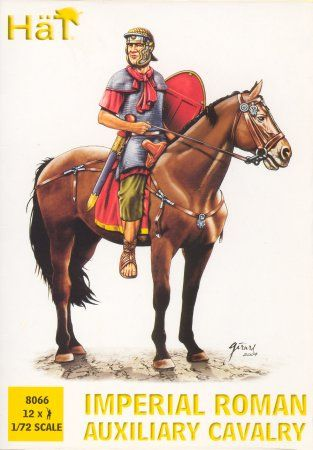 1/72 Imperial Roman Auxiliary Cavalry Set #1 (12) - HAT-8066