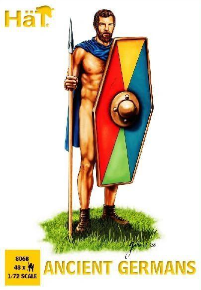 1/72 Ancient Germans (48) - HAT-8068