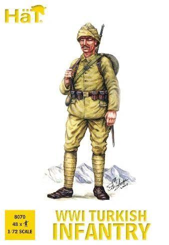 1/72 WWI Turkish Infantry (48) - HAT-8070