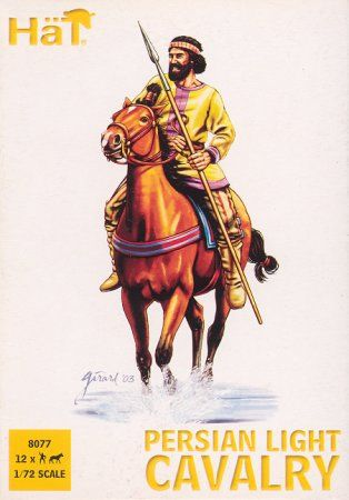 1/72 Alexander the Great Persian Light Cavalry (12 mtd) - HAT-8077