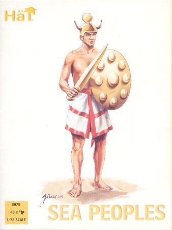 1/72 Sea Peoples (48) (D) - HAT-8078