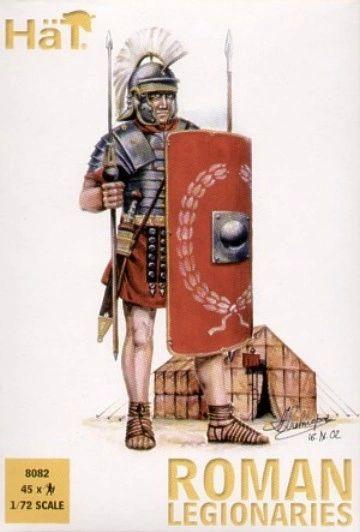 1/72 Roman Legionaires (45) - HAT-8082
