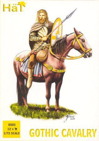1/72 Gothic Cavalry (12 mtd) - HAT-8085