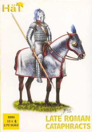 1/72 Late Roman Cataphracts (Knights) (12 Mtd) - HAT-8086