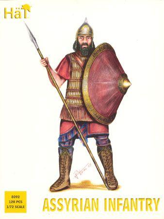 1/72 Assyrian Infantry (120) - HAT-8092