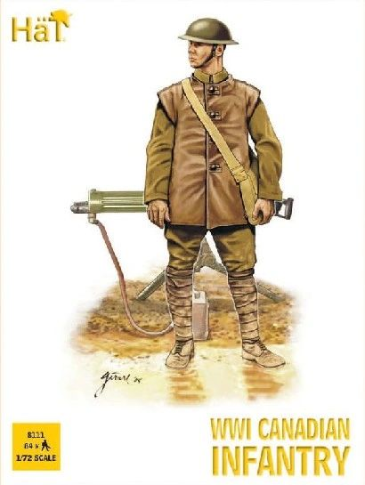 1/72 WWI Canadian Infantry (84) - HAT-8111