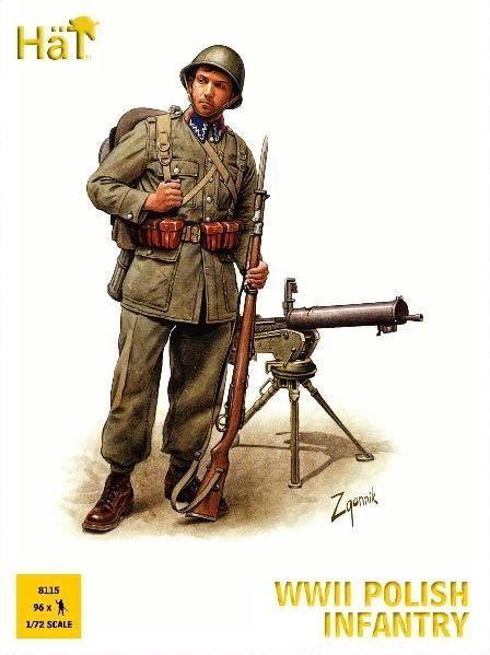 1/72 WWII Polish Infantry (96) - HAT-8115