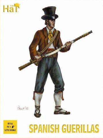 1/72 Napoleonic Spanish Guerillas (96) - HAT-8116