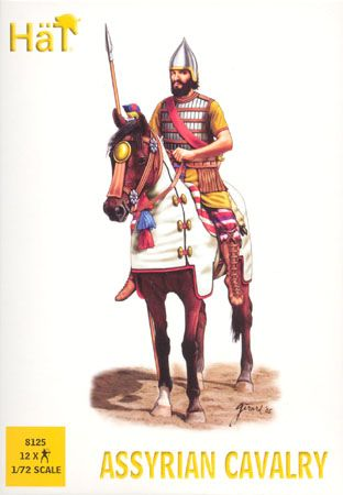 1/72 Assyrian Cavalry (12 Mtd) - HAT-8125