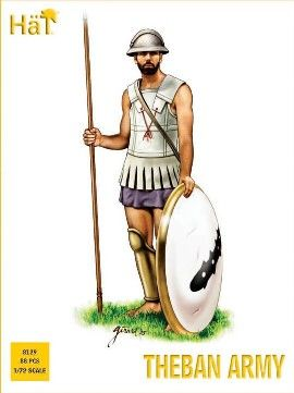 1/72 Theban Army (52 & 8 Mtd) - HAT-8129