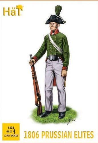 1/72 1806 Prussian Elites (48) - HAT-8136