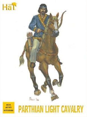 1/72 Parthian Light Cavalry (15 Mtd & 3 Foot) - HAT-8144