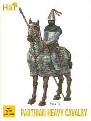 1/72 Parthian Heavy Cavalry (15 Mtd & 3 Foot) - HAT-8145