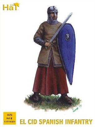 1/72 El Cid Spanish Infantry (96) - HAT-8176