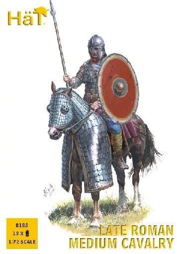 1/72 Late Roman Medium Cavalry (12 Mtd) - HAT-8183