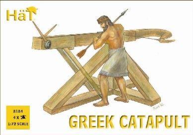 1/72 Ancient Greek Warrior (24 w/4 Cataputs) - HAT-8184