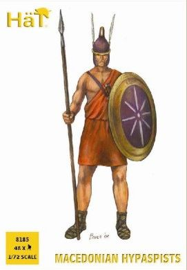 1/72 Ancients Macedonian Hypaspists (48) - HAT-8185