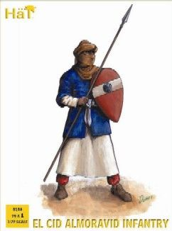 1/72 El Cid Almoravid Infantry (96) - HAT-8189