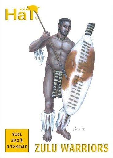 1/72 Zulu Warriors (32) - HAT-8191