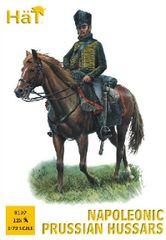 1/72 Napoleonic Prussian Hussars (12 Mtd) - HAT-8197