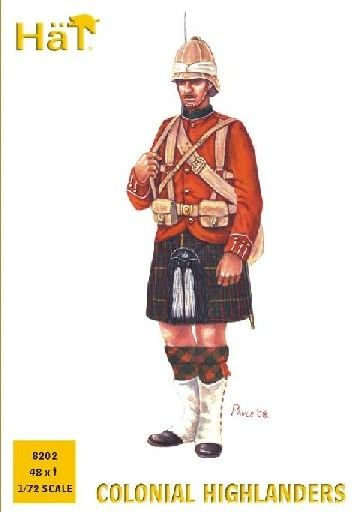 1/72 Colonial Wars Highlanders (48) - HAT-8202