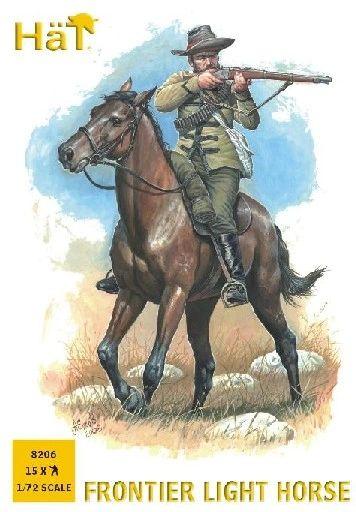1/72 Frontier Light Horseman (15 Mtd) - HAT-8206