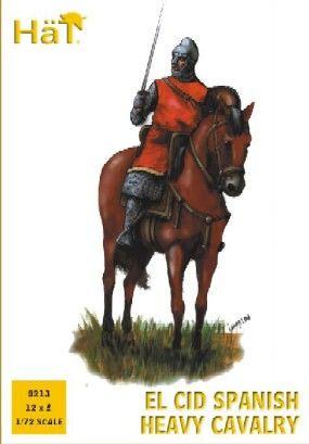 1/72 El Cid Spanish Heavy Cavalry (12 Mtd) - HAT-8213