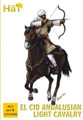 1/72 El Cid Andalusian Light Cavalry (12 Mtd) - HAT-8214