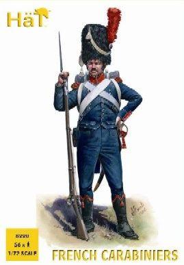 1/72 Napoleonic French Carabiniers (56) - HAT-8220