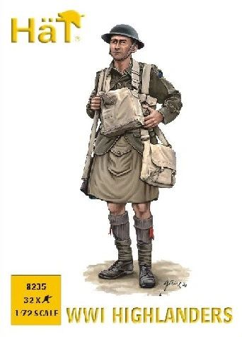 1/72 WWI Highlanders (32) - HAT-8235