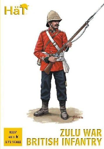 1/72 Zulu War British Infantry (48) - HAT-8237