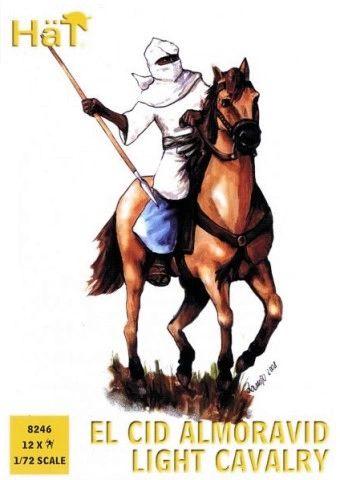 1/72 El Cid Almoravid Light Cavalry (12 Mtd) - HAT-8246