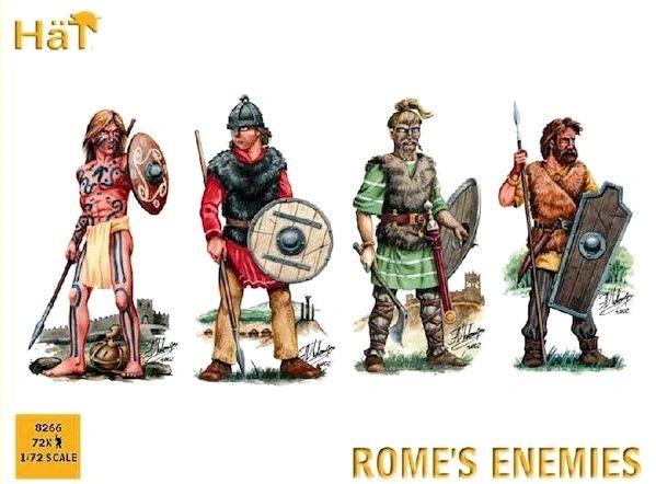 1/72 Rome's Enemies (72) - HAT-8266