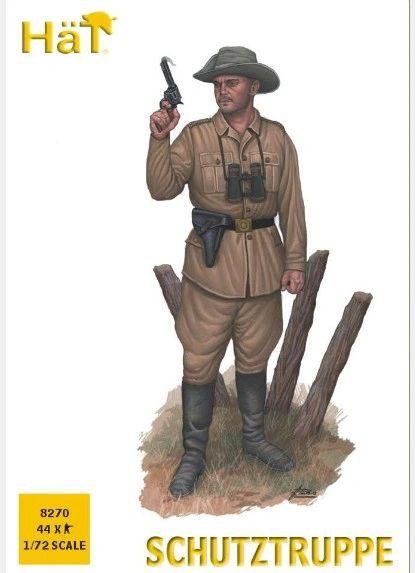 1/72 WWI Schutztruppe (44) - HAT-8270