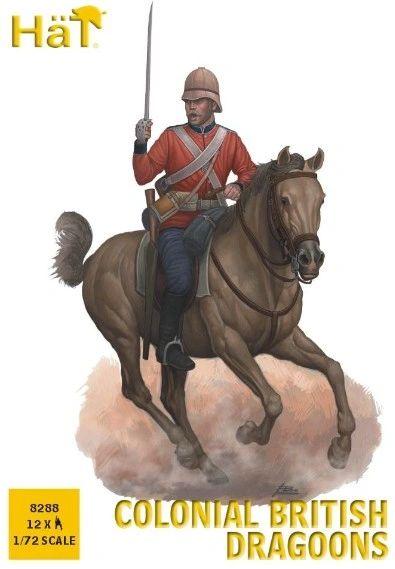 1/72 Colonial British Dragoons (12 Mtd) - HAT-8288