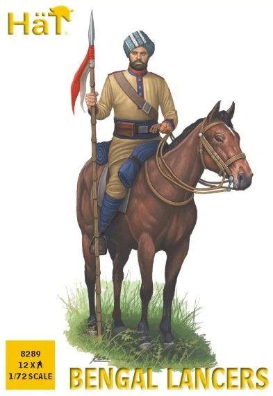 1/72 Bengal Lancers (12 Mtd) - HAT-8289