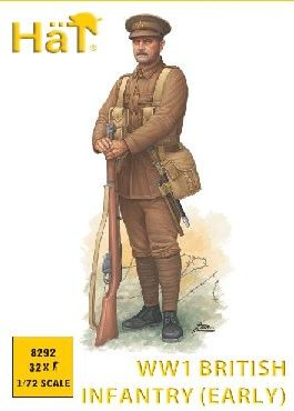 1/72 WWI British Infantry (Early) (32) - HAT-8292