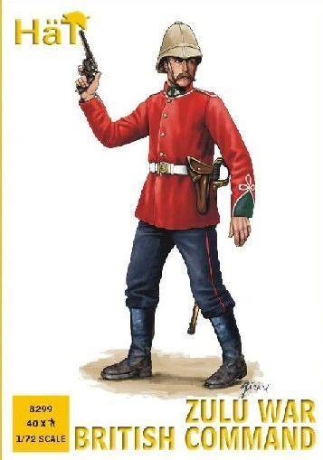 1/72 Zulu War British Command (40) - HAT-8299