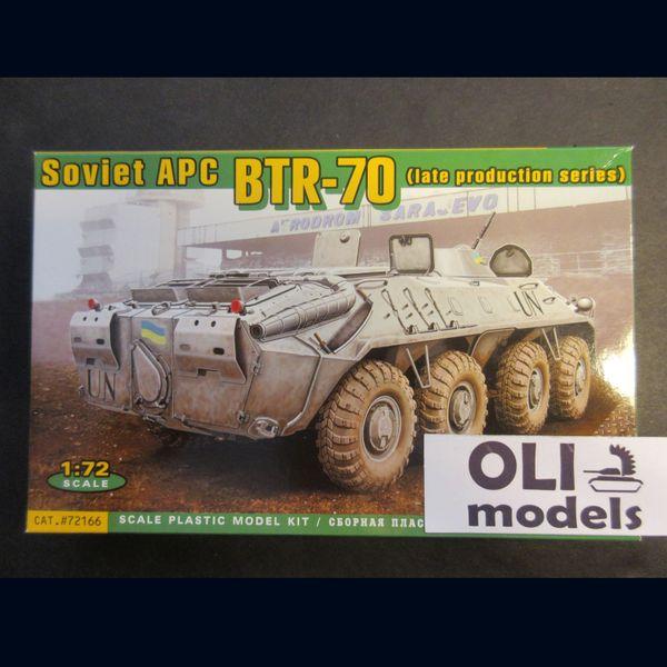 1/72 Soviet APC BTR-70 Late Production Series - ACE 72166