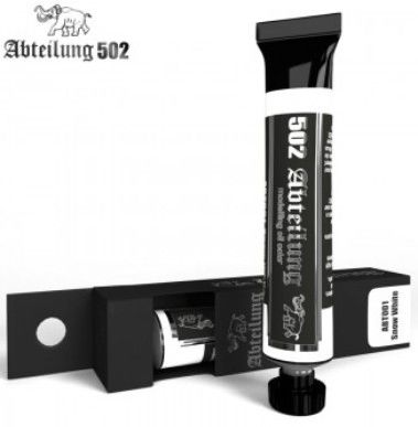 Weathering Oil Paint SNOW WHITE 20ml Tube - Abteilung 502 ABT001