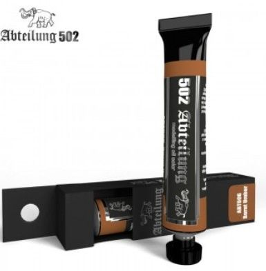 Weathering Oil Paint BURNT UMBER 20ml Tube - Abteilung 502 ABT006