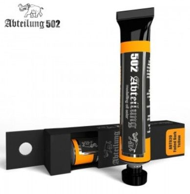 Weathering Oil Paint Faded Dark Yellow 20ml Tube - Abteilung 20