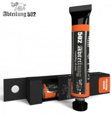Weathering Oil Paint Warm Red 20ml Tube - Abteilung 25