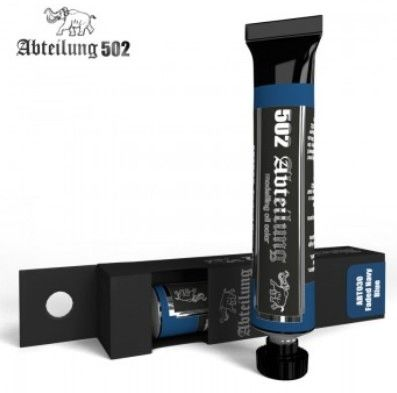 Weathering Oil Paint Faded Navy Blue 20ml Tube - Abteilung 30