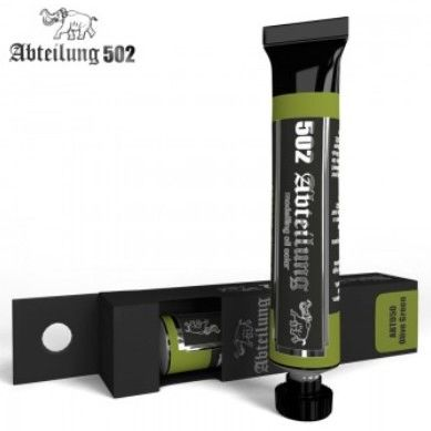 Weathering Oil Paint Olive Green 20ml Tube - Abteilung 50