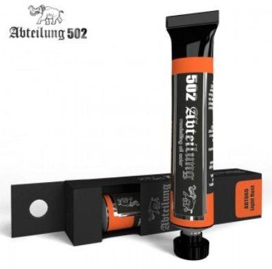 Weathering Oil Paint Light Rust 20ml Tube - Abteilung 60