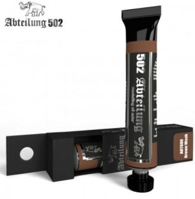 Weathering Oil Paint Brown Wash 20ml Tube - Abteilung 80