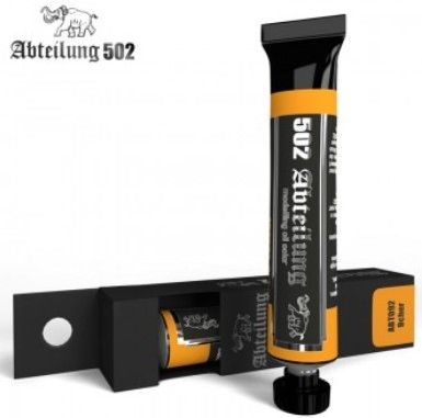 Weathering Oil Paint Ochre 20ml Tube - Abteilung 92