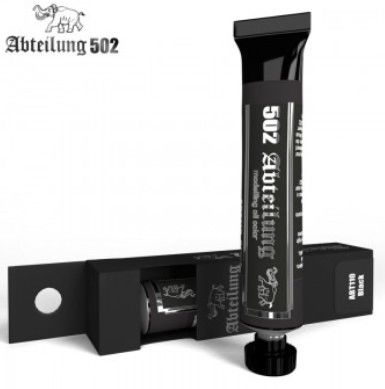Weathering Oil Paint Black 20ml Tube - Abteilung 110